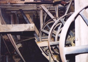 Equipment in Chapman's Mill circa 1990