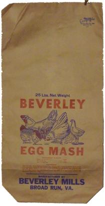 Egg Mash Bag